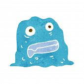 cartoon slime creature