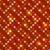 Seamless with shiny stars