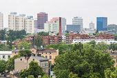 Panorama Of Lodz City In Poland