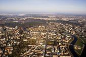 Aerial View Of Vilnius