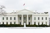 The White House in Winter - Washington DC, United States of America