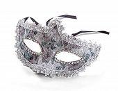 Carnival Mask Isolated On White Background
