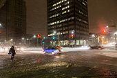Snow Storm In Toronto