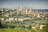 An image of the towers of San Gimignano in Italy