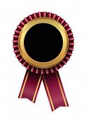 award label tag icon with ribbon