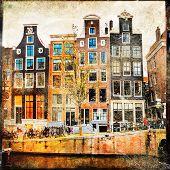 old Amsterdam - vintage slides