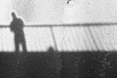 Shadows on the bridge