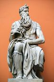 Sculpture of Moses by Michaelangelo