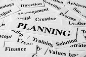 Planning And Other Related Words
