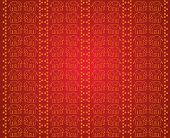 Thai red elephant pattern