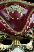Musician mask closeup