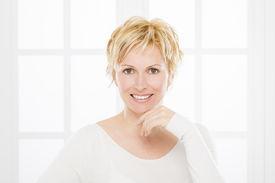 picture of birthmark  - Portrait of nice - JPG