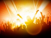 image of club party  - Party People in Club  - JPG