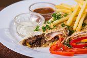 picture of shawarma  - Eastern food - JPG