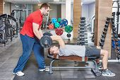 stock photo of personal assistant  - fitness and sport concept - JPG