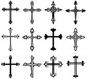 picture of religious  - Religious cross design collection - JPG