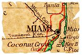 Miami Old Map