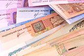 picture of american money  - european money - JPG