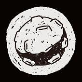 foto of meteors  - Doodle Meteor - JPG