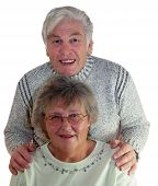 stock photo of social-security  - golden wedding couple happy together rare today - JPG