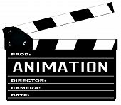 Постер, плакат: Animation Clapperboard