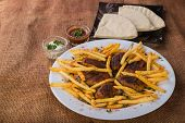 stock photo of veal meat  - East cuisine - JPG