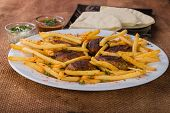 pic of veal meat  - East cuisine - JPG