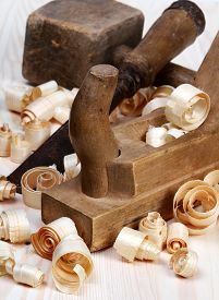 picture of woodcarving  - joiner tools  - JPG