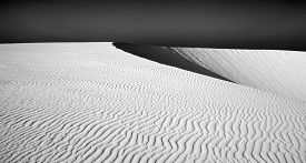 picture of barchan  - Northern Fuerteventura Canary Islands nature reserve Dunes of Corralejo - JPG