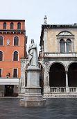 Statue Of Dante Alighieri, Verona.