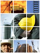 image of construction industry  - conceptual set made from my photos great mor your design - JPG