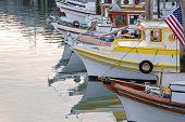 Fishing Boats At Fisherman'S Wharf, San Francisco