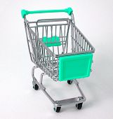Green Shopping Trolley