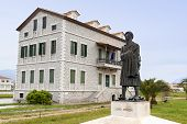 Historic Lord Byron's house at Mesologi in Greece