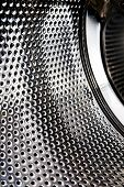 Background abstract of a washing machine interior