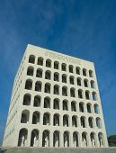 Coliseo cuadrado en Eur, Roma