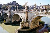 Ponte Sant'Angelo Or Bridge Of Hadrian