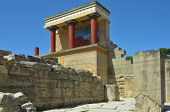 Ancient Temple de Minoan