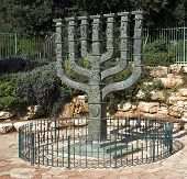 The Knesset'S Menorah Sculpture