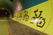 Tunnel For Bicycles