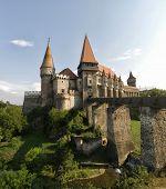 The Corvin Castle (hunyadi Castle Or Hunedoara Castle), Gothic-renaissance Castle, Hunedoara, Romani poster