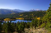 Scenic landscape in Rocky mountains