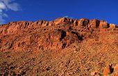 Vermilion cliffs mountains at Arizona and Utah border