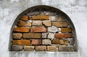 pic of burial-vault  - Above ground burial vaults in an historic New Orleans cemetery - JPG