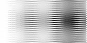 Halftone Pattern Background. Minimal Geometric Background.  Vector Illustration . Abstract Halftone  poster
