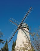 Monteriore Windmill in Jerusalem