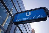 Enterance To Alexanderplatz Metro Station