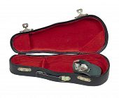 Music Case With Hat Full Of Money