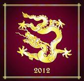 2012 Ano do design do dragão.