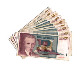 pic of former yugoslavia  - Dinar of former Yugoslavia  - JPG